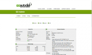 goautodial admin interface